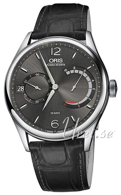 Oris Culture Herreklokke 01 111 7700 4063-Set 1 23 72FC Grå/Lær - Oris