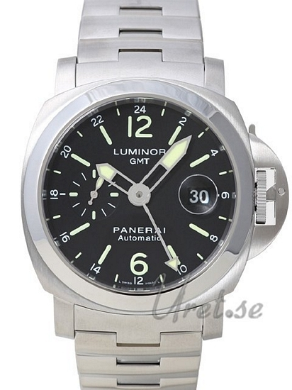 Panerai Contemporary Luminor GMT Herreklokke PAM 297 Sort/Stål Ø44 - Panerai