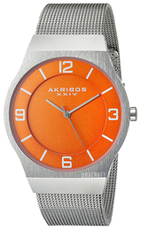 Akribos XXIV Orange/Stål Ø40 mm AK851OR