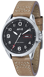 AVI-8 Hawker Harrier II Sort/Lær Ø45 mm AV-4045-01