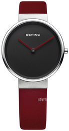 Bering Classic Sort/Lær Ø31 mm 14531-642