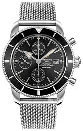 Breitling Superocean Heritage II Chronograph Sort/Stål Ø46 mm A1331212-BF78-152A