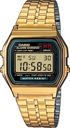 Casio Casio Collection Gulltonet stål 36.8x33.2 mm A159WGEA-1EF