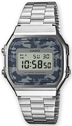 Casio Casio Collection LCD/Stål 36.3x38.6 mm A168WEC-1EF