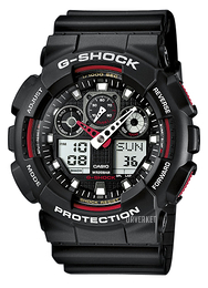 Casio G-Shock Sort/Resinplast Ø51.2 mm GA-100-1A4ER