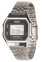 Casio Casio Collection LCD/Stål 33.5x28.6 mm LA680WEA-1EF