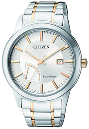 Citizen Dress Sølvfarget/Gulltonet stål Ø40 mm AW7014-53A