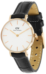 Daniel Wellington Classic Petite Reading Hvit/Lær Ø28 mm DW00100229