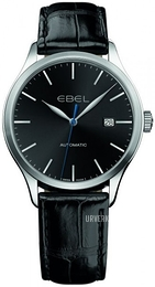 Ebel Classic 100 Sort/Lær Ø40 mm 1216089