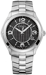 Ebel Classic Sort/Stål Ø40 mm 1216176