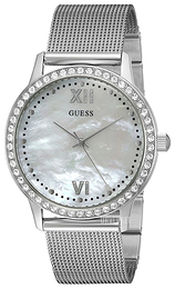 Guess Dress Hvit/Stål Ø39 mm U0785L1