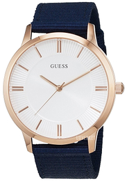 Guess Escrow Hvit/Tekstil Ø44 mm W0795G1