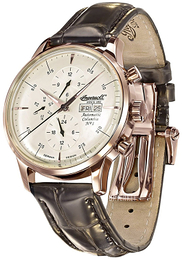 Ingersoll Beige/Lær Ø44 mm IN2819RCR