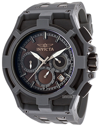 Invicta Akula Sort/Stål Ø51 mm 22368