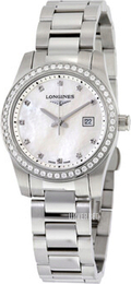 Longines Conquest Hvit/Stål Ø29.5 mm L3.300.0.87.6