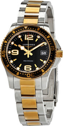 Longines HydroConquest Sort/Gulltonet stål Ø34 mm L3.340.3.56.7