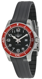 Longines HydroConquest Sort/Gummi Ø39 mm L3.688.4.59.2