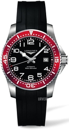 Longines HydroConquest Sort/Gummi Ø39 mm L3.694.4.59.2