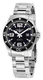Longines Hydroconquest Sort/Stål Ø39 mm L3.640.4.56.6