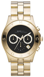 Marc by Marc Jacobs Blade Sort/Gulltonet stål Ø40 mm MBM3309