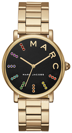 Marc by Marc Jacobs Dress Sort/Gulltonet stål Ø36 mm MJ3567