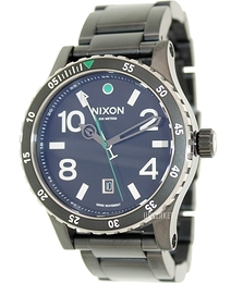 Nixon The Diplomat SS Sort/Stål Ø45 mm A2771421-00