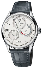 Oris Culture Antikk hvit/Lær Ø43 mm 01 112 7726 4051-Set 1 23 71FC