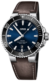 Oris Diving Blå/Lær Ø43.5 mm 01 733 7730 4135-07 5 24 10EB