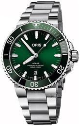 Oris Diving Grønn/Stål Ø43.5 mm 01 733 7730 4157-07 8 24 05PEB