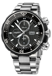 Oris ProDiver Sort/Titan Ø51 mm 01 774 7683 7154-Set