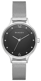 Skagen Anita Sort/Stål Ø31 mm SKW2473
