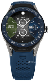 TAG Heuer Connected Modular 45 Flerfarget/Gummi Ø45 mm SBF8A8012.11FT6077