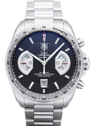 TAG Heuer Grand Carrera Calibre 17 Automatic Chronograph Sort/Stål Ø43 mm CAV511A.BA0902
