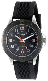 Timex Sort/Gummi Ø41 mm TW2P872009J