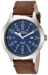 Timex Expedition Blå/Lær Ø43 mm TW4B06400