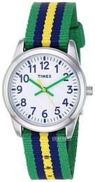 Timex Hvit/Tekstil Ø30 mm TW7C10100