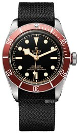 Tudor Heritage Sort/Tekstil Ø41 mm 79230r-0001-fb1