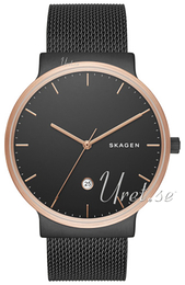 Skagen Ancher Sort/Stål Ø40 mm SKW6296