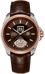 TAG Heuer Grand Carrera Brun/Lær Ø42.5 mm WAV5153.FC6231