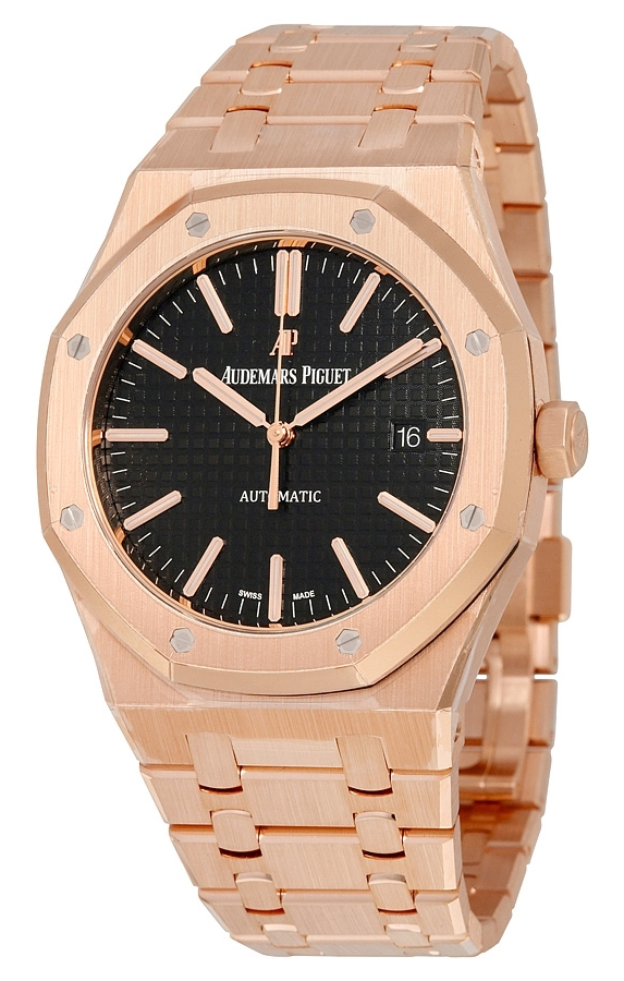 Audemars Piguet Royal Oak Herreklokke 15400OR.OO.1220OR.01 Sort/18 - Audemars Piguet