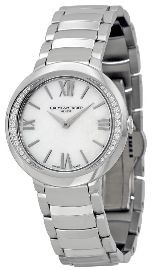 Baume & Mercier PROMESSE Dameklokke MOA10160 Sølvfarget/Stål - Baume & Mercier