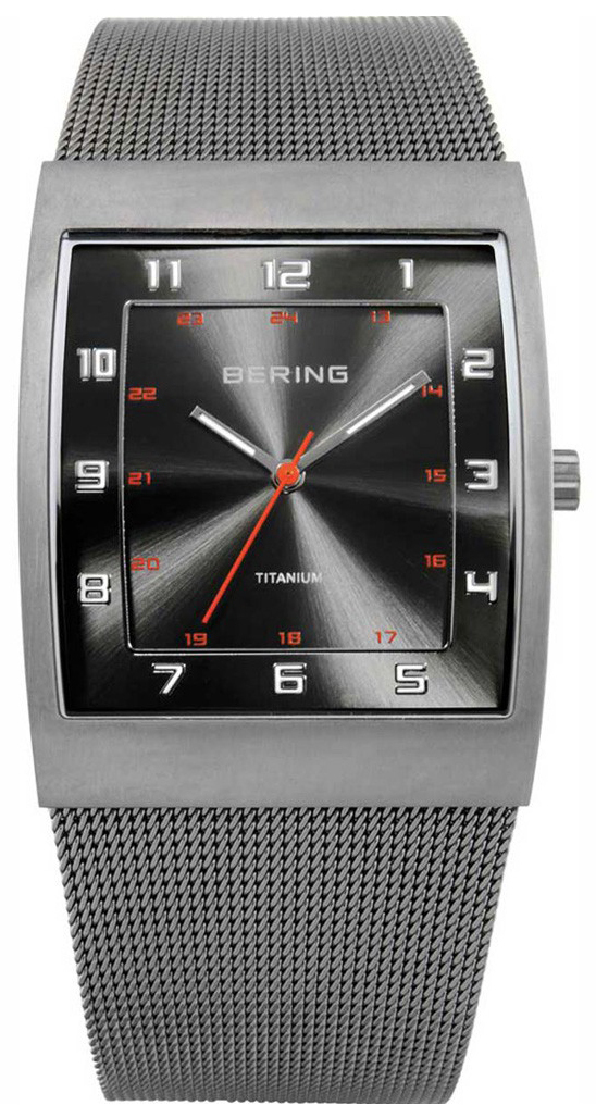 Bering Titanium Herreklokke 11233-077 Grå/Titan - Bering