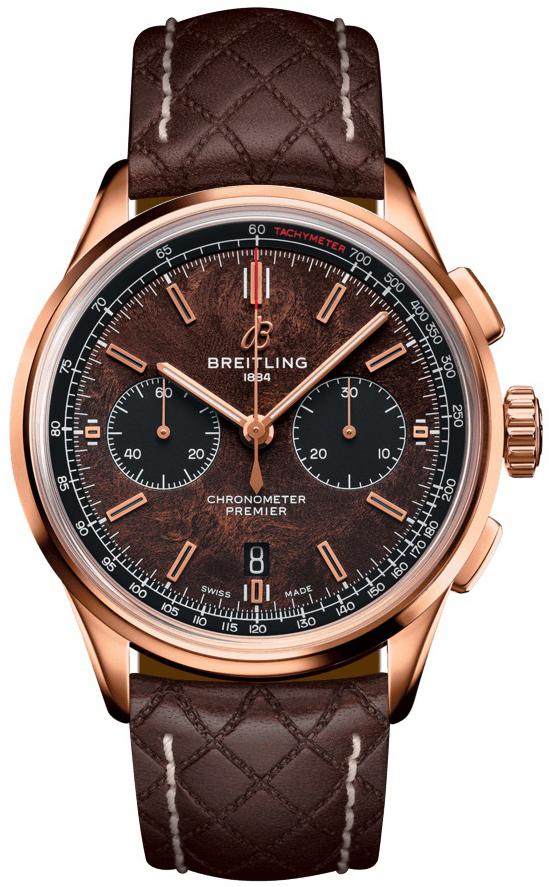 Breitling Premier B01 Chronograph 42 Herreklokke RB01181A1Q1X1 - Breitling
