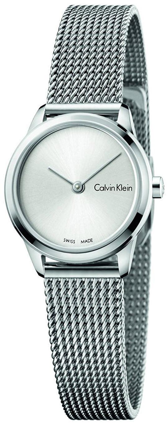 Calvin Klein Minimal Dameklokke K3M231Y6 Sølvfarget/Stål Ø24 mm