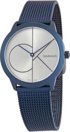 Calvin Klein Minimal Dameklokke K3M52T56 Sølvfarget/Stål Ø35 mm - Calvin Klein