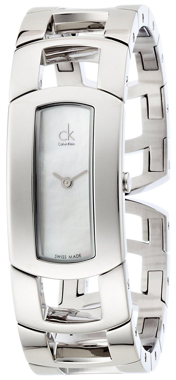 Calvin Klein Dress Dameklokke K3Y2M11G Sølvfarget/Stål - Calvin Klein