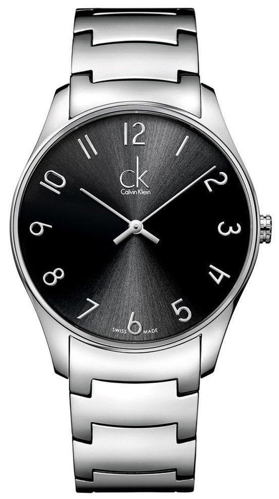 Calvin Klein Classic Herreklokke K4D2114X Sort/Stål Ø38 mm - Calvin Klein