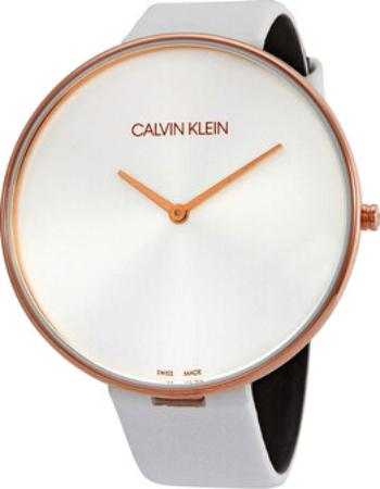 Calvin Klein Full Moon Herreklokke K8Y236L6 Sølvfarget/Lær Ø42 mm - Calvin Klein