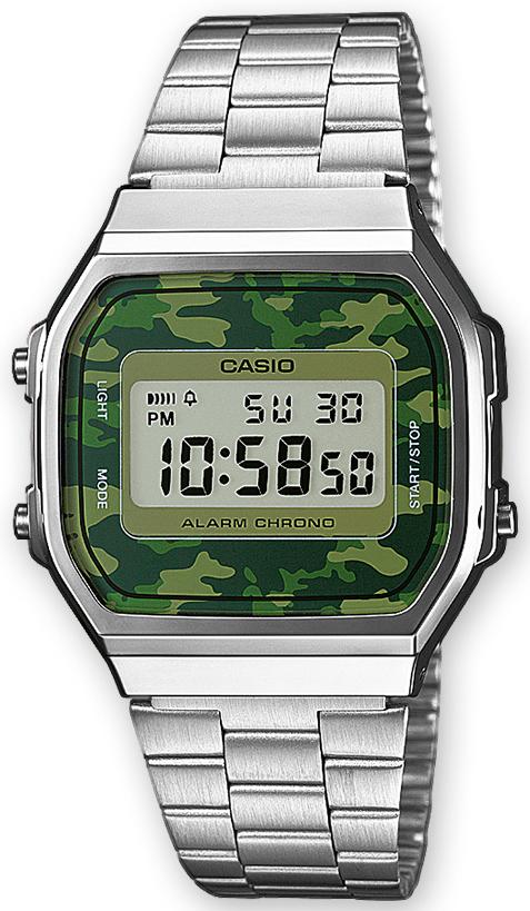 Casio Casio Collection A168WEC-3EF LCD/Stål 36.3x38.6 mm - Casio