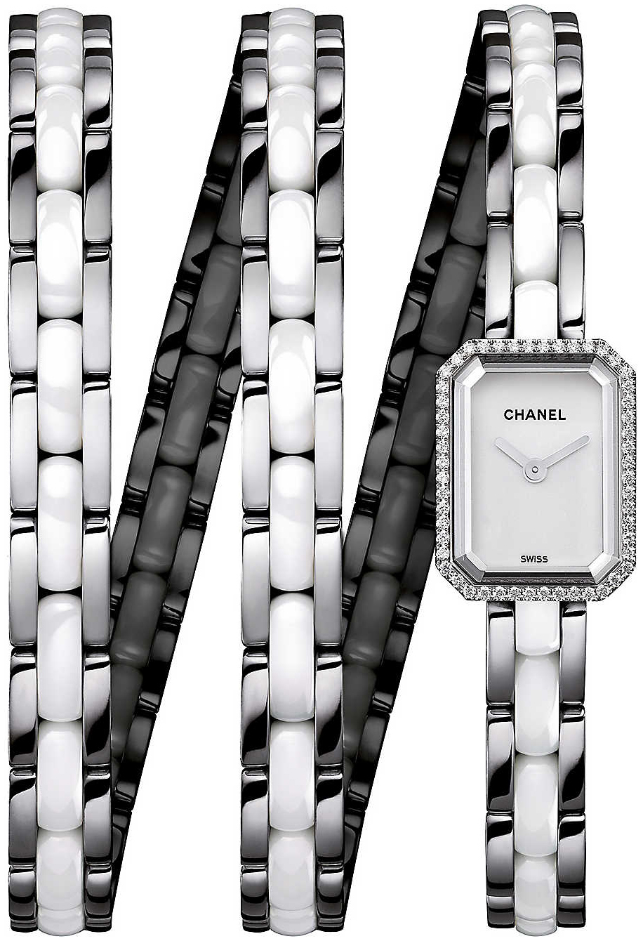 Chanel Premiere Dameklokke H3059 Hvit/Keramik 15x19.5 mm - Chanel